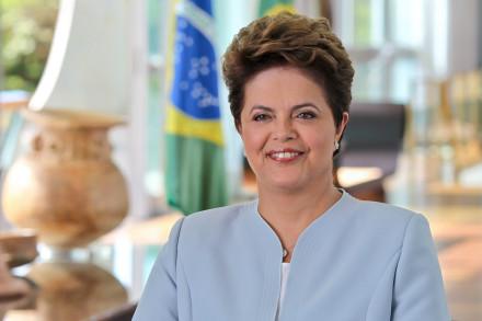 Bras'lia - DF, 08/02/2011. Presidenta Dilma Rousseff durante grava‹o no Pal‡cio da Alvorada. Foto: Roberto Stuckert Filho/PR.